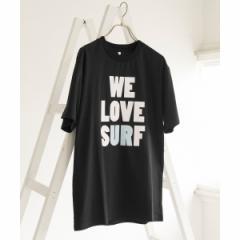 アーバンリサーチ(メンズ)(URBAN RESEARCH)/メンズTシャツ(UR×ISA WELOVESURF Tシャツ)