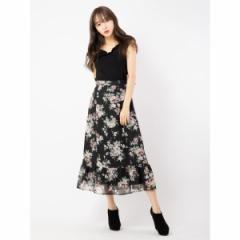 セシルマクビー(CECIL McBEE)/フラワーロングスカート