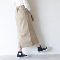 コーエン(レディース)(coen)/【別注】 Dickies(ディッキーズ)ストレッチロングタイトスカート
