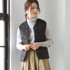 コーエン(レディース)(coen)/【WOMENS】 TAION ( タイオン ) Vネックダウンベスト