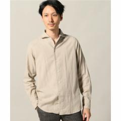 エディフィス(EDIFICE)/メンズシャツ(Matteucci マテウッチ / Belesto カラーコットンネルシャツ)