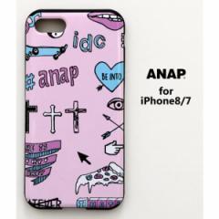 アナップ(ANAP)/ANAPロゴiPhone7_8対応ケース(MIX MOTIF)