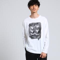 タケオキクチ(TAKEO KIKUCHI)/MTシャツ(「合わせ鷹の羽」ロングスリーブTシャツ[ メンズ ロンT コラボ ])