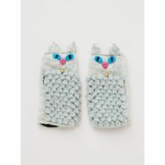 チャイハネ(CAYHANE)/【チャイハネ】ニャングローブ もこもこ猫手袋