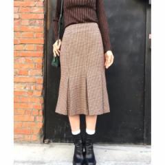 アクアガール(aquagirl)/チェックマーメイドスカート