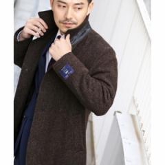タケオキクチ(TAKEO KIKUCHI)/Mブルゾン(ツイードブルゾンFabric by MOON [ メンズ アウター ブルゾン ベーシック キルティング シ…