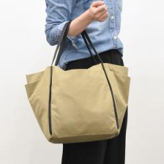 クーコ(cooco)/ナイロンポケットトートバッグ【A4サイズ対応】