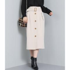 ビス(ViS)/ベルト付きトレンチIラインスカート