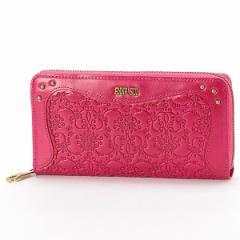 アナスイ(ANNA SUI)/ミラ ラウンドファスナー長財布(カード入れ22ヵ所の大容量でとっても便利)