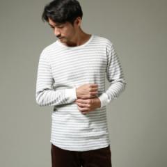 ザ ショップ ティーケー(メンズ)(THE SHOP TK Mens)/MTシャツ(【WEB限定】ワッフルロングカットソー)