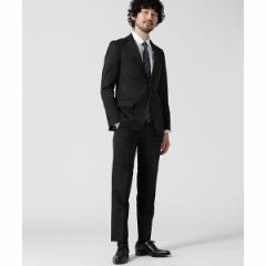 ナノ・ユニバース(メンズ)(nano universe)/【WEB限定】【Dresspresso】スーツ+ストライプ+スリム+ブラック