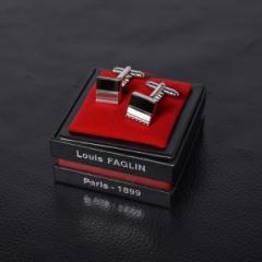 シップス(メンズ)(SHIPS)/LOUIS FAGLIN: GALADRE ブラック オニキス カフスリンクス