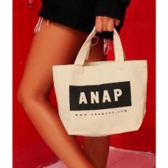 アナップ(ANAP)/ANAPロゴキャンバスミニトートBA
