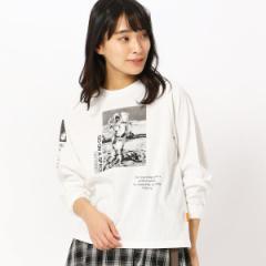 179/WG(179 WG)/フォトプリントロングスリーブTシャツ