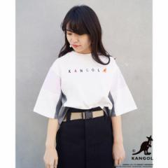 179/WG(179 WG)/【WEB別注】KANGOLコラボブロッキングTシャツ