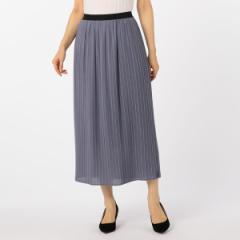 ノーリーズ レディース(NOLLEY'S)/ウール混ボイルプリーツスカート