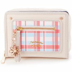 リズリサ(バッグ&ウォレット)(LIZ LISA Bag&Wallet)/チャーム付き マルチ ラウンドファスナーミニ財布