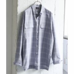 アーバンリサーチ ドアーズ(メンズ)(URBAN RESEARCH DOORS)/メンズシャツ(チェックオーバーシャツ)