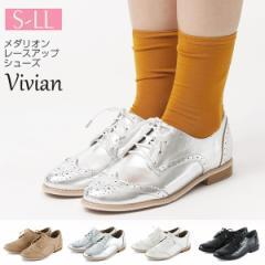 ヴィヴィアン(Vivian)/[19春夏新作] メダリオンレースアップシューズ