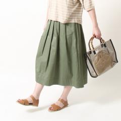 コーエン(レディース)(coen)/チノフレアロングスカート