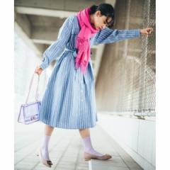 エージー バイ アクアガール(AG by aquagirl)/【Lサイズあり】【with5月号掲載】タイプライターアソートワンピース