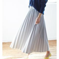 ビス(ViS)/【WEB限定】カットデニムプリーツスカート