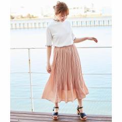 イング(INGNI)/『4/9ヒルナンデスご紹介商品』JZプリーツスカート