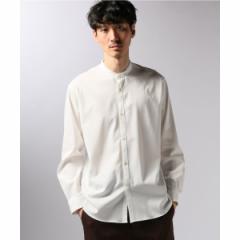 エディフィス(EDIFICE)/メンズシャツ(レーヨンツイルバンドカラーシャツ)