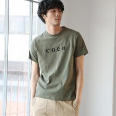 コーエン(メンズ)(coen)/【MENS】coen(コーエン)ロゴTシャツ・カラー