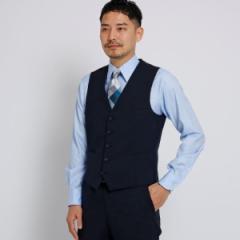 タケオキクチ(TAKEO KIKUCHI)/Mジャケッ(シャドーストライプベストFabric by CORDURA(R)[ メンズ スーツ セットアップ ])