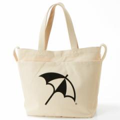 アーノルドパーマー タイムレス(レディース)(arnold palmer timeless)/傘&ロゴプリント2WAYトートバッグ