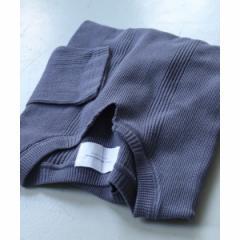 アーバンリサーチ ドアーズ(メンズ)(URBAN RESEARCH DOORS)/メンズTシャツ(針抜きワッフルキーネックTシャツ)
