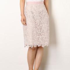 アプワイザー・リッシェ(Apuweiser−riche)/カラーレースタイトスカート