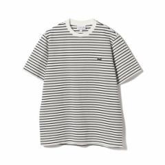 ビームス(BEAMS)/LACOSTE / 鹿の子 ボーダーTシャツ