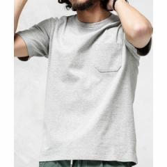 ナノ・ユニバース(メンズ)(nano universe)/【19SS】Anti Soaked ヘビークルーネックTシャツ