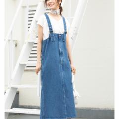 ビス(ViS)/【一部店舗限定】【Lee×ViS】デニムジャンパースカート