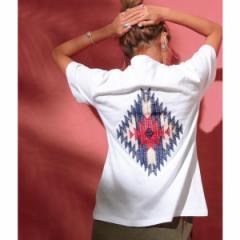 アナップ(ANAP)/オルテガ刺繍Tシャツ