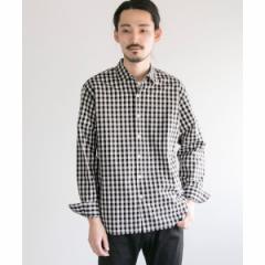 アーバンリサーチ(メンズ)(URBAN RESEARCH)/メンズシャツ(フェザーコットンチェックシャツ)