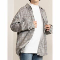 ウィゴー(メンズ)(WEGO)/WEGO/チェックビッグシャツ