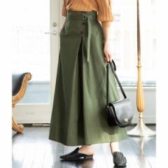 ビス(ViS)/【2WAY】ツイルハイウエストジャンパースカート