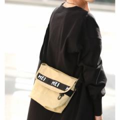 ビス(ViS)/【MEI×ViS】リサイクルナイロンミニメッセンジャーバッグ