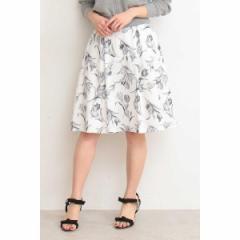 プロポーションボディドレッシング(PROPORTION BODY DRESSING)/ガーデンチューリップフレアースカート