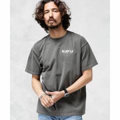 ナノ・ユニバース(メンズ)(nano universe)/【KAVU】別注FRUIT OF THE LOOM ピグメントTシャツ