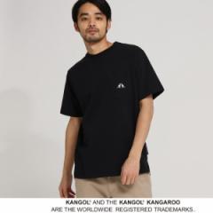 ベース ステーション(メンズ)(BASE STATION Mens)/MTシャツ(KANGOL カンゴール 別注 コラボ Tシャツ メンズ ポケット 半袖Tシャツ)