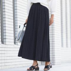 メイソングレイ(MAYSON GREY)/【socolla】シフォンプリーツスカート