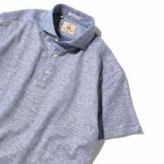 シップス(メンズ)(SHIPS)/GUY ROVER: コットン リネン カッタウェイ ポロシャツ