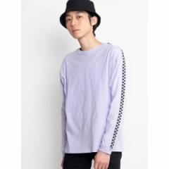 ウィゴー(メンズ)(WEGO)/WEGO/テープロゴワンポイント刺繍ロングTシャツ