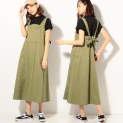 コーエン(レディース)(coen)/バックリボンジャンパースカート