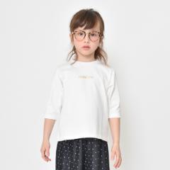 ブランシェス(branshes)/ロゴ7分袖ビックシルエットTシャツ