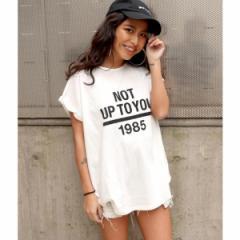 アナップ(ANAP)/ロールアッププリントTシャツ